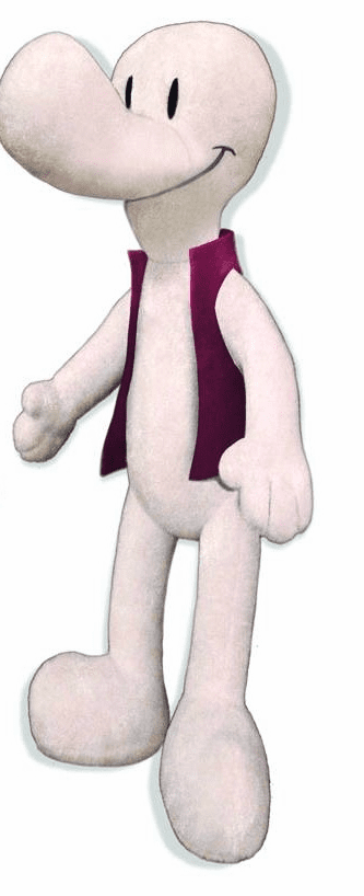 Jeff Smith Smiley Bone Plush