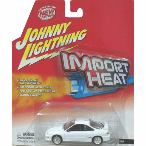 Johnny Lightning Import Heat Acura Integra Custom Car