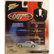 Johnny Lightning James Bond 40th Anniversary Goldfinger Ford Mustang Convertible