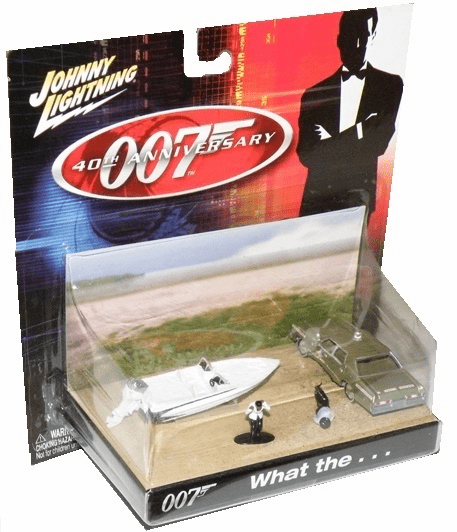 Johnny Lightning James Bond 40th Anniversay Live and Let Die Diorama