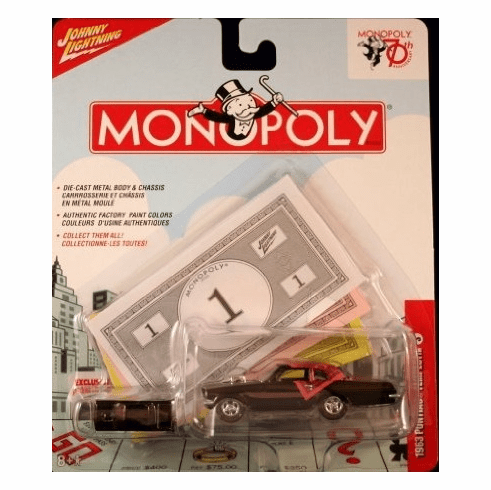 Johnny Lightning Monopoly 70th Anniversary 1963 Pontiac Tempest Car