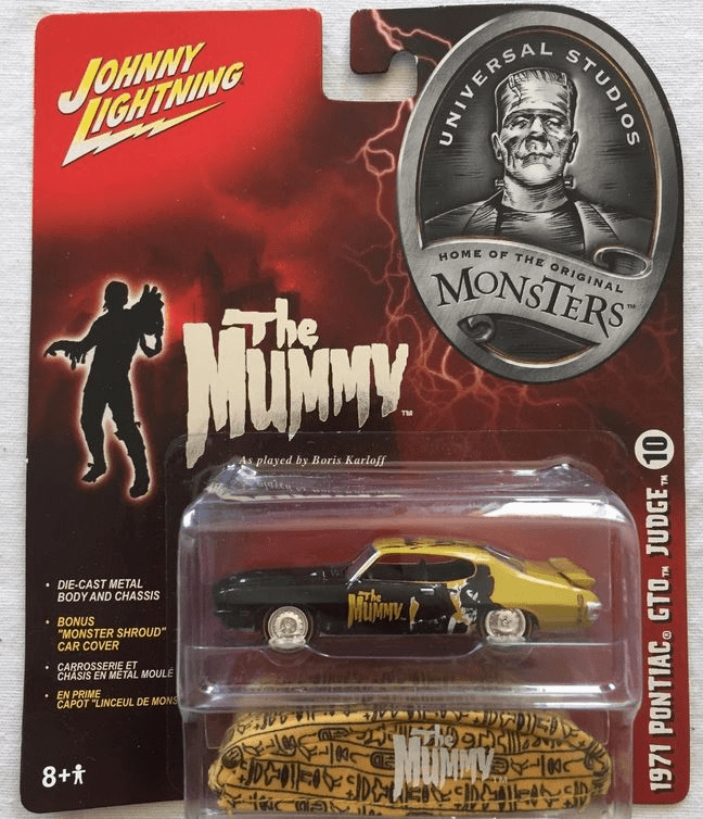 Johnny Lightning Universal Monsters The Mummy 1971 Pontiac GTO Judge