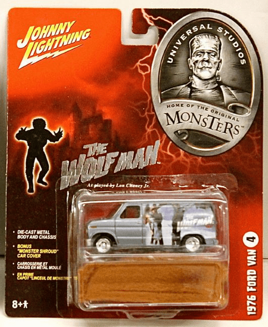 Johnny Lightning Universal Monsters The Wolfman 1976 Ford Van