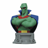 Justice League Animated Series Martian Manhunter Bust