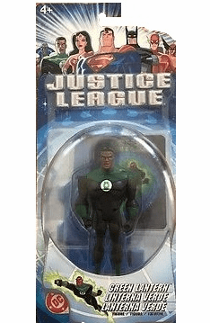 Justice League John Stewart Green Lantern Figure