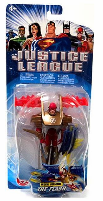 Justice League Mega Armor The Flash Figure