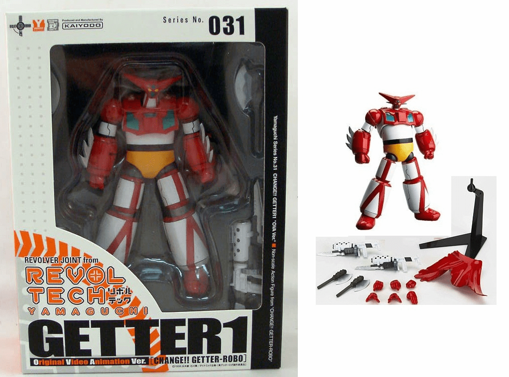 Kaiyodo Revoltech #31 Getter 1 OVA Action Figure
