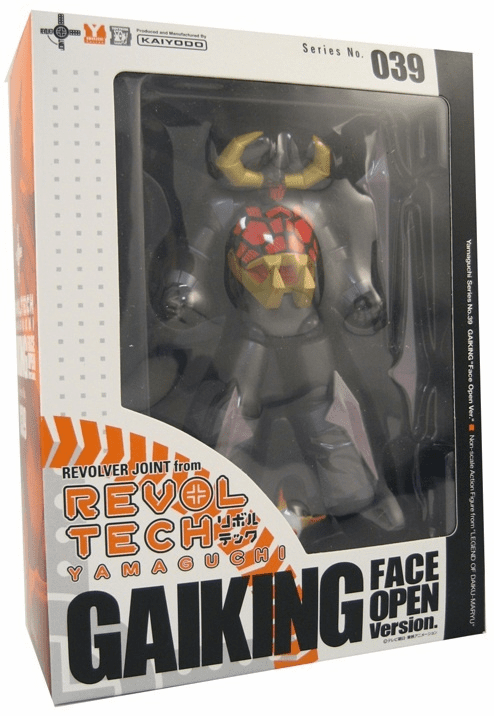 Kaiyodo Revoltech #39 Gaiking Open Face Action Figure