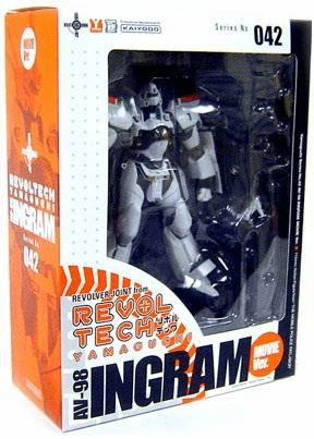 Kaiyodo Revoltech #42 Patlabor AV-98 Movie Ingram 2 Action Figure