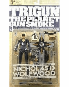 Kaiyodo Trigun The Planet Gunsmoke Nicholas Wolfwood Action Figure