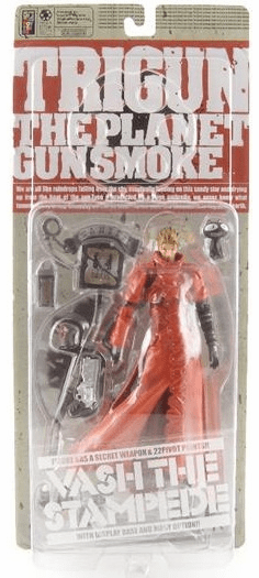 Kaiyodo Trigun The Planet Gunsmoke Vash the Stampede Action Figure