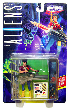 Kenner Aliens Space Marine LT. Ripley Action Figure