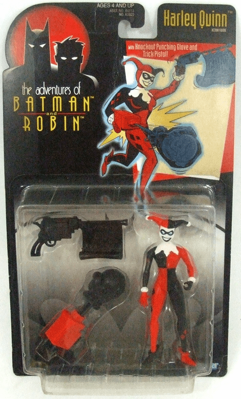 Kenner The Adventures of Batman & Robin Harley Quinn Figure