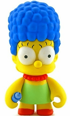 Kidrobot Simpsons Mini Marge Simpsons Figure