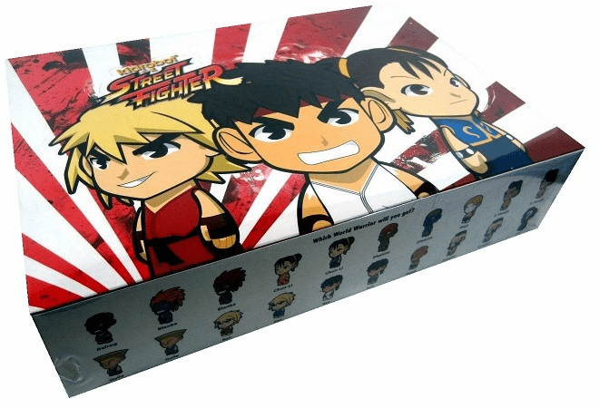 Kidrobot Street Fighter Mini Figure Mystery Case
