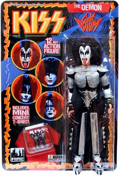 KISS Deluxe Sonic Boom The Demon Figure