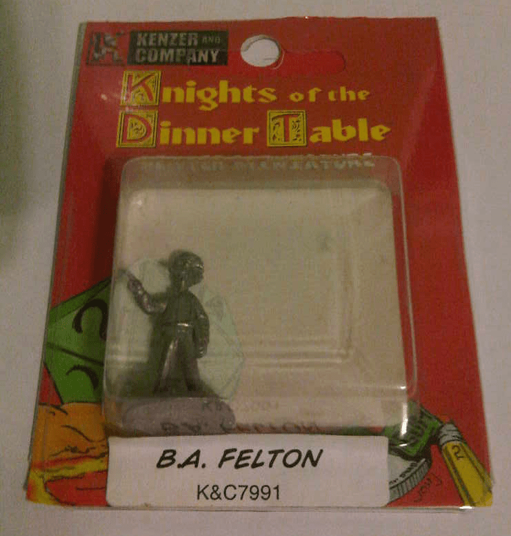 Knights of the Dinner Table B.A. Felton Miniature