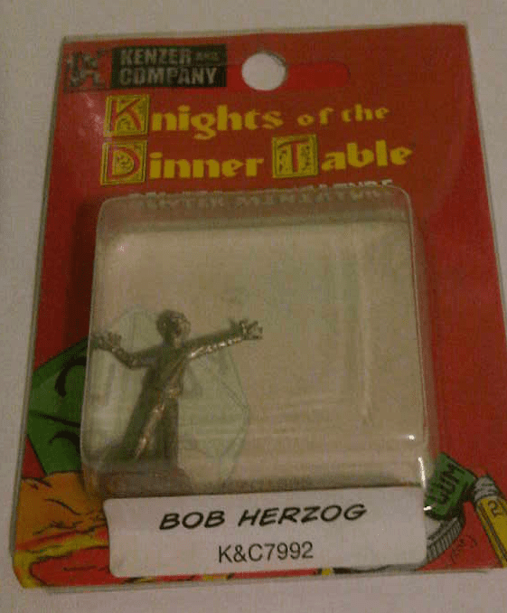Knights of the Dinner Table Bob Herzog Miniature