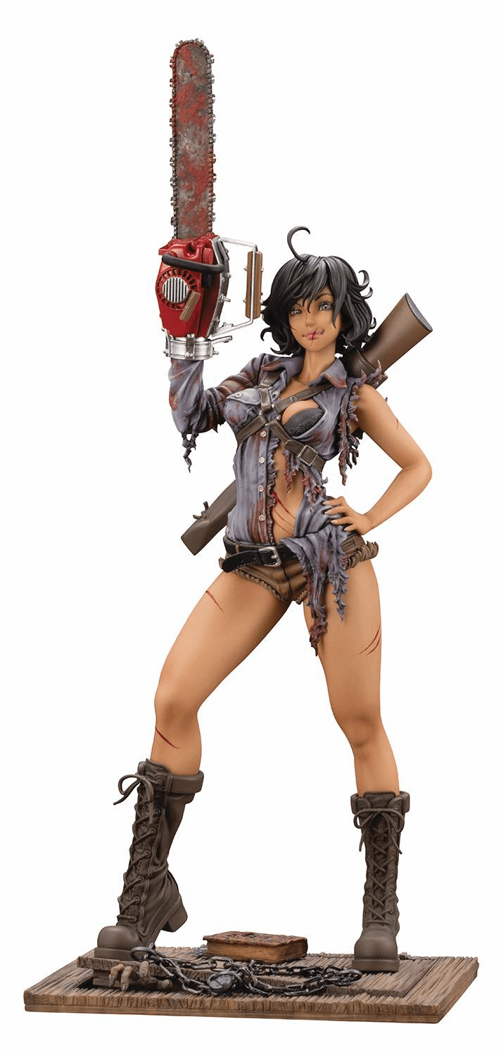 Kotobukiya Evil Dead 2 Dead by Dawn Ash Williams Bishoujo Statue