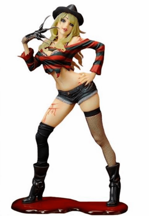 Kotobukiya Freddy vs Jason First Edition Freddy Krueger Bishoujo Statue