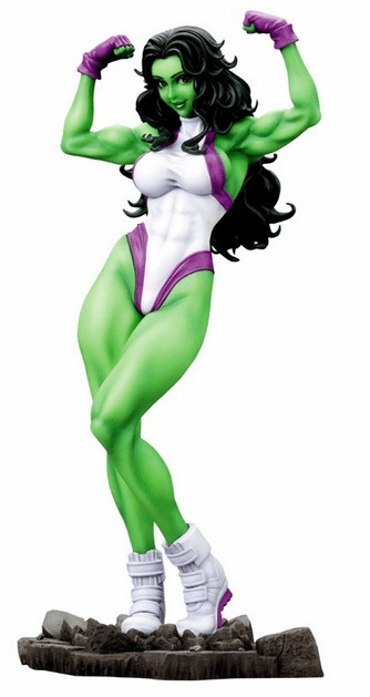 Kotobukiya Marvel She-Hulk Bishoujo Statue Collection
