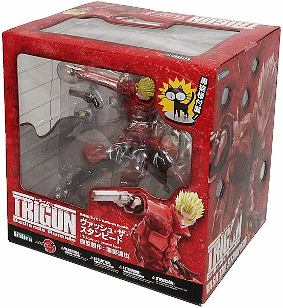 Kotobukiya Trigun Badlands Rumble Vash the Stampede ARTFX J Statue