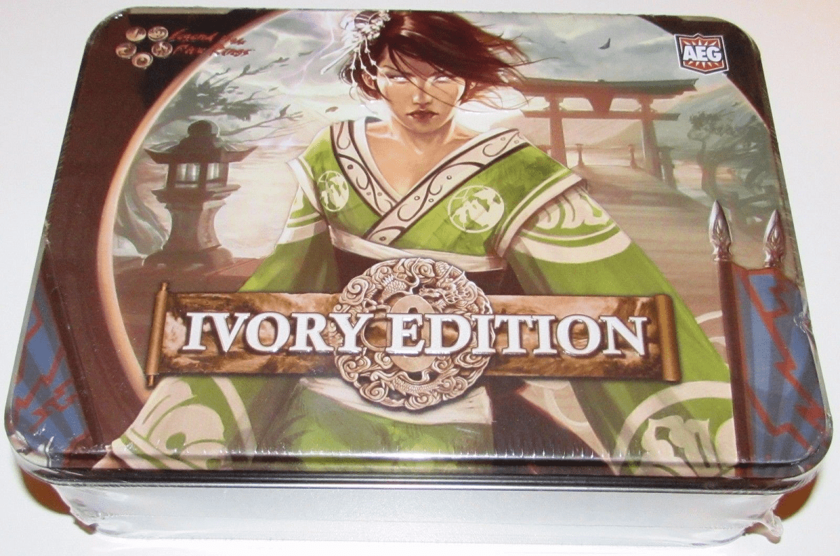 Legend of the Five Rings Ivory Edition Sealed Booster Tin