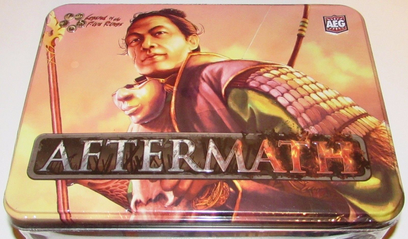 Legend of the Five Rings Aftermath Edition Booster Tin