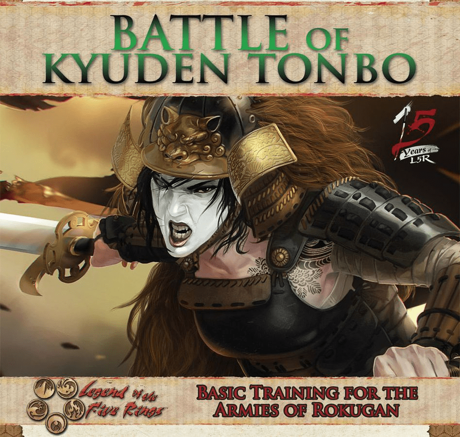 Legend of the Five Rings Battle of Kyuden Tonbo Card Game