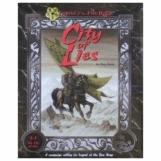 Legend of the Five Rings City of Lies RPG Set
