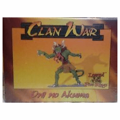 Legend of the Five Rings Clan War Oni no Akuma Miniature