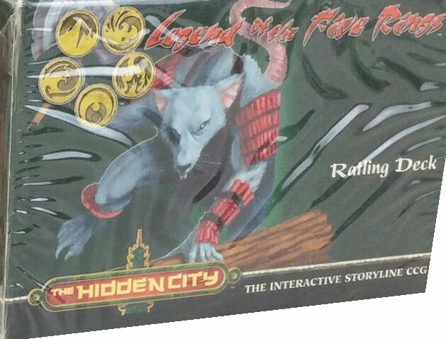 Legend of the Five Rings Diamond Edition The Hidden City Ratling Deck