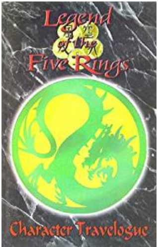 Legend of the Five Rings Dragon Clan Character Travelogue RPG Book