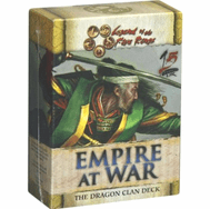 Legend of the Five Rings Empire at War Dragon Starter Deck