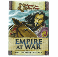 Legend of the Five Rings Empire at War Unicorn Starter Deck