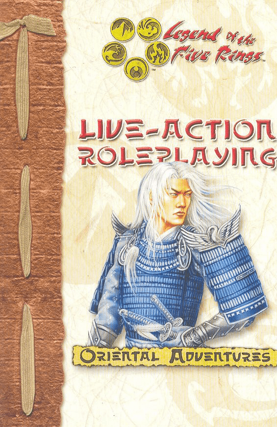 Legend of the Five Rings Live-Action Roleplaying Oriental Adventures Core Rules