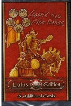 Legend of the Five Rings Lotus Edition Booster Pack