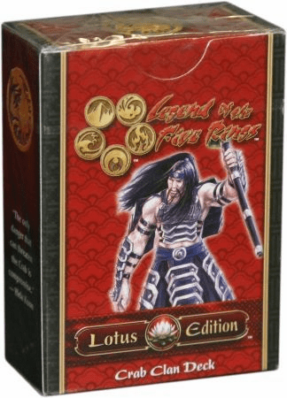Legend of the Five Rings Lotus Edition Crab Clan Starter Deck