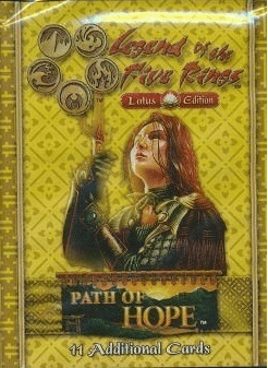 Legend of the Five Rings Lotus Edition Path of Hope Booster Pack