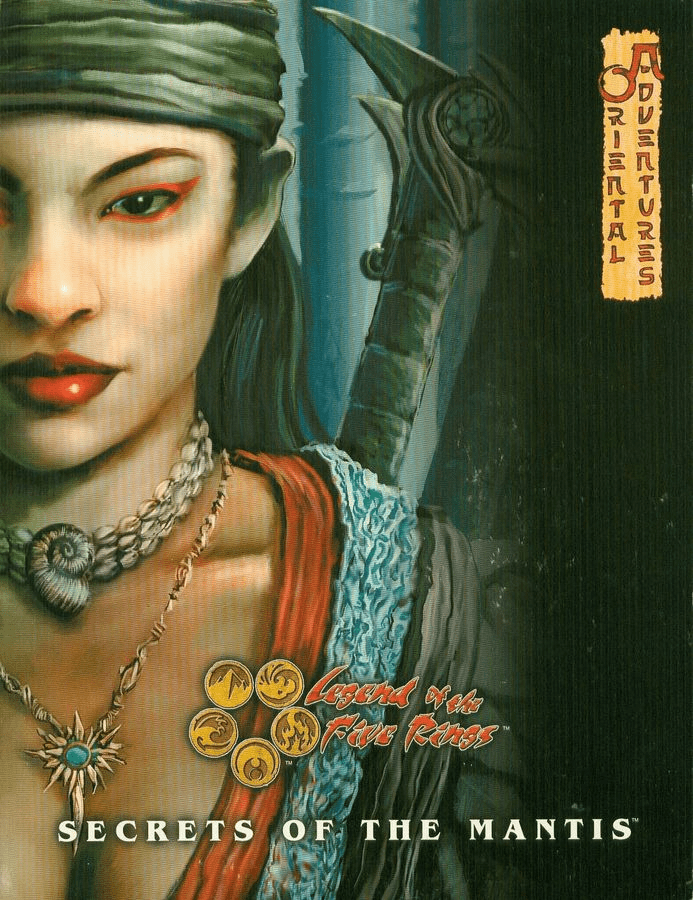 Legend of the Five Rings Oriental Adventures Secrets of the Mantis RPG