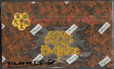 Legend of the Five Rings Soul of the Empire Theme Deck Box