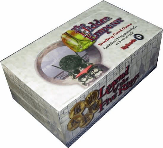 Legend of the Five Rings The Hidden Emperor Episode 3 Booster Box