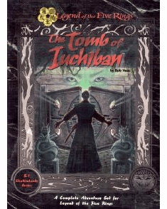 Legend of the Five Rings Tomb of Iuchiban RPG Set