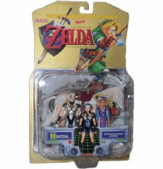 Legend of Zelda Ocarina of Time Impa with Princess Figure Set
