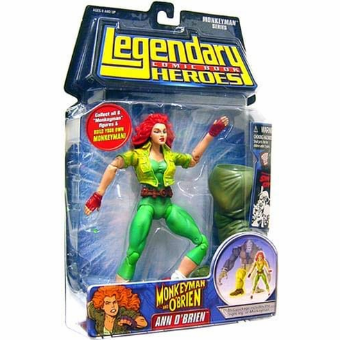 Legendary Comic Book Heroes Ann O'Brien Figure