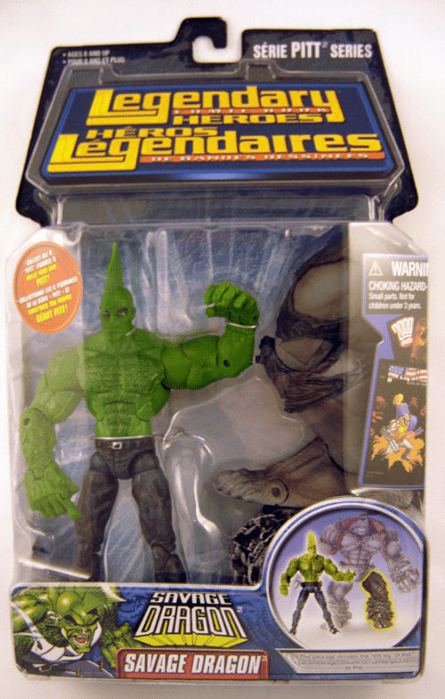 Legendary Comic Book Heroes Savage Dragon Action Figure