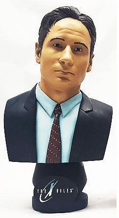 Legends in 3-D X-Files Fox Mulder Bust