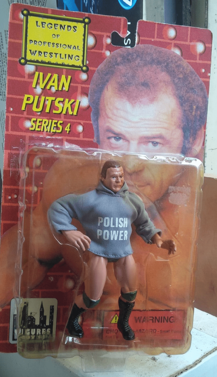 Legends of Professional Wrestling Ivan Putski Figure