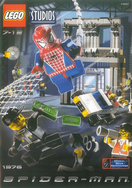 Lego 1376 Spider-Man Action Studio Set