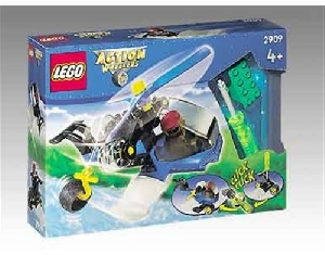 Lego 2909 Duplo Action Wheelers Helicopter Rescue Set